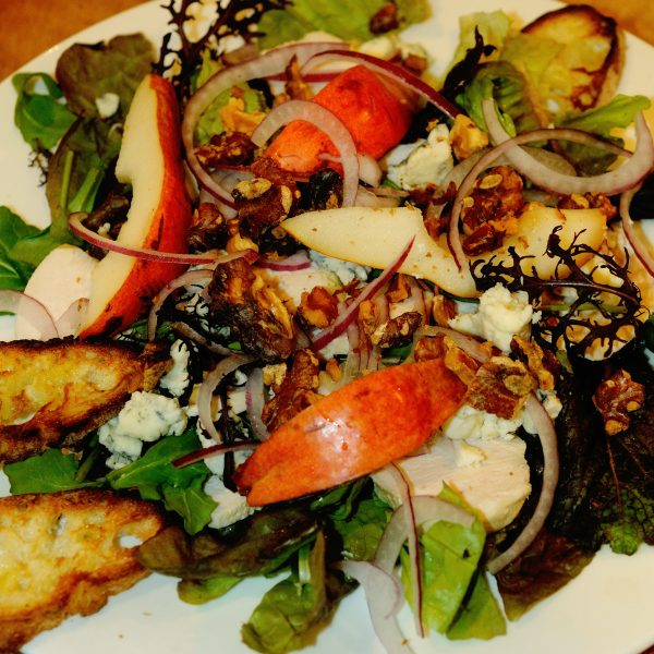 Chicken Or Turkey Salad With Pears