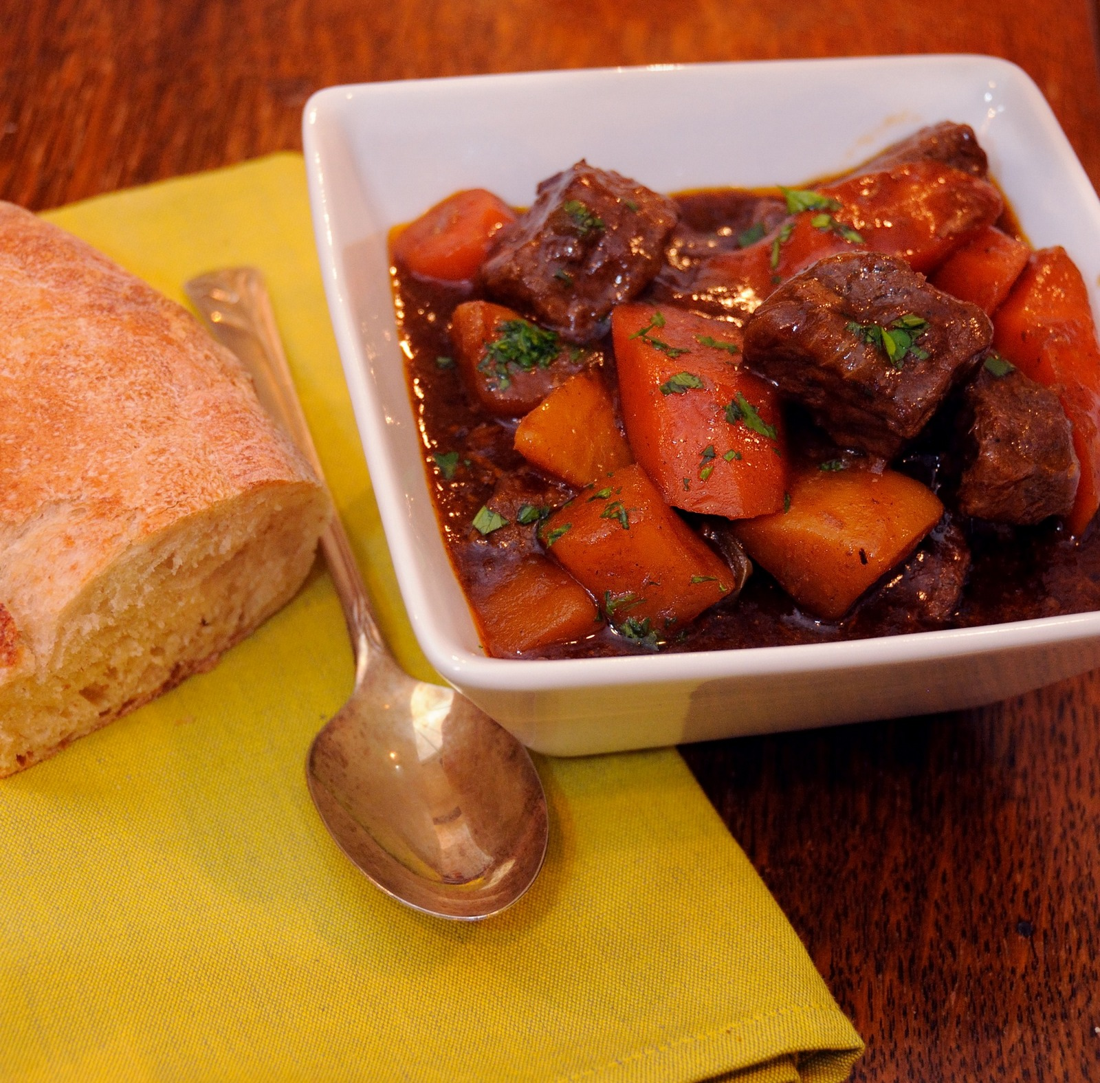 Beer Braised Beef Stew
