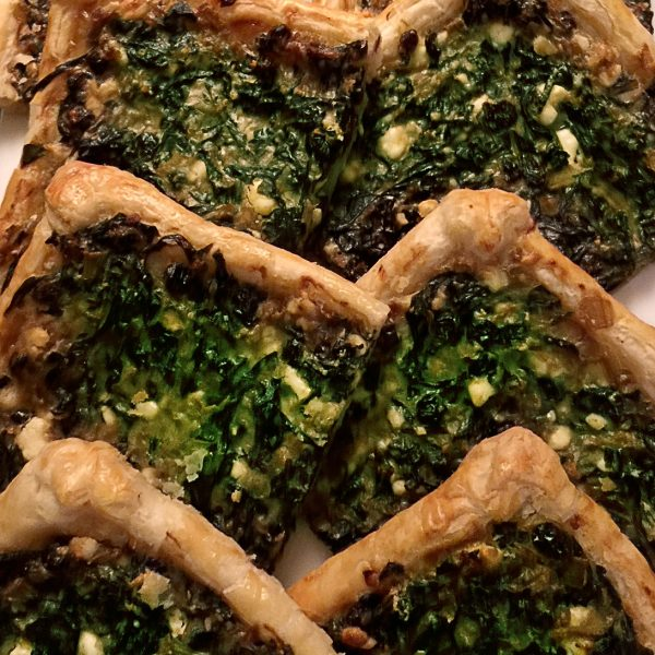 Swiss Chard Tart With Feta And Currants